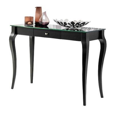 Bresso Console Table Color: Black
