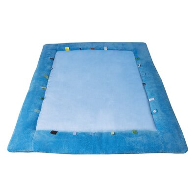 Cheerful Playing Playmat Color: Blue