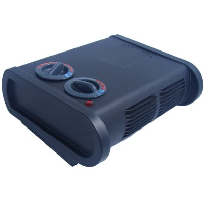 True North Freestanding Electric Space Heater with Anti Freeze Setting