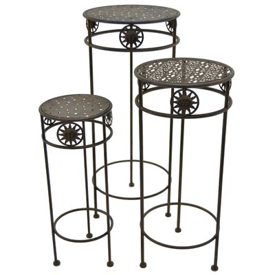 Andersontown Round 3 Piece Nesting Plant Stand Set