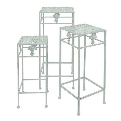Berthold Metal 3 Piece Nesting Plant Stand Set