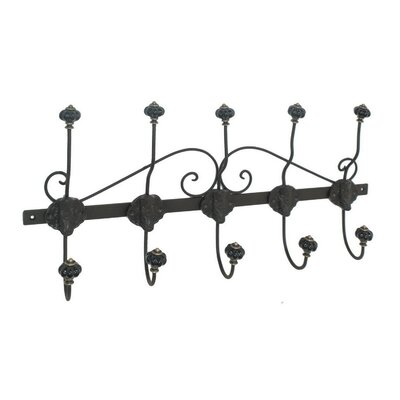 Collinsworth Metal Wall Mounted Coat Rack