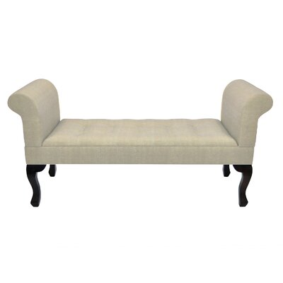 Kieth Upholstered Bench Upholstery: Beige