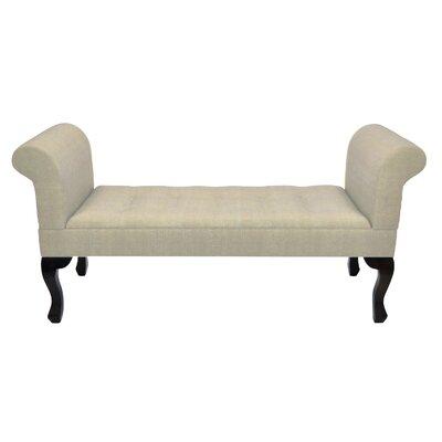 Kieth Upholstered Bench Upholstery: Beige