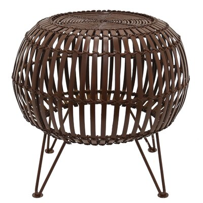 Liddle Accent Stool Color: Brown