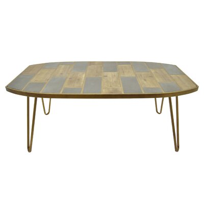 Distressed Wood Console Table