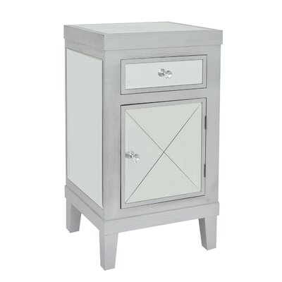 Antone Wood 1 Drawer Accent Cabinet