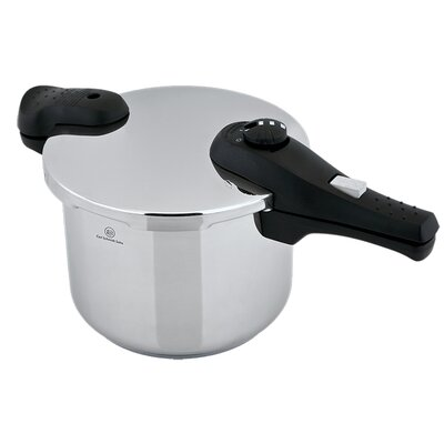 """Prepro Stainless Steel Pressure Cooker Size: 6.5"""" H x 17"""" W x 9"""" D"""