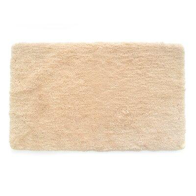Laure Ultra Plush Shaggy Bath Rug Color: Cream