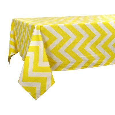 "Hanner Chevron Tablecloth Size: 102"" W x 60"" L"