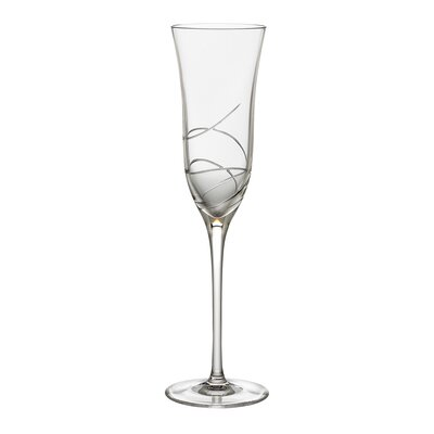 Ballet Ribbon Champagne Flute