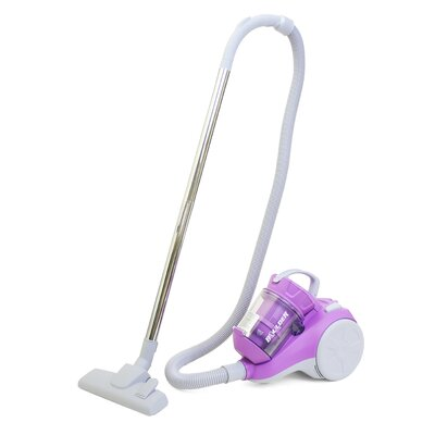 0.5L Bagless Canister Vacuum Cleaner with Cyclone Technology Color: Purple