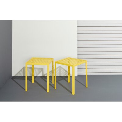 Howard Series Drop Accent Stool Finish: Matte Denim