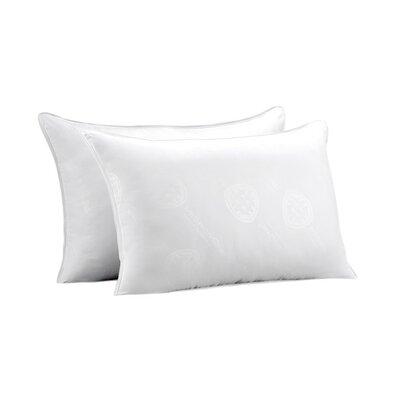 Allergen Free Medium Density Polyfill Pillow Size: Standard