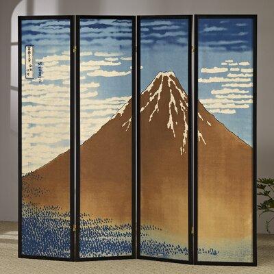 Mount Fuji 4 Panel Room Divider