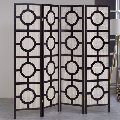 Room Divider Number of Panels: 4