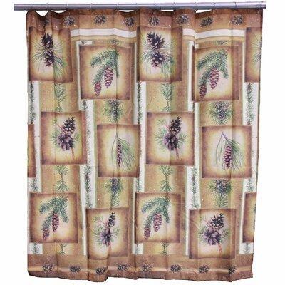 Pinecone Shower Curtain