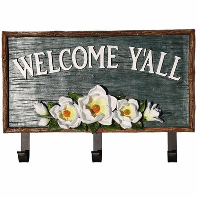 Magnolia Welcome Sign Wall Hook