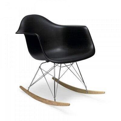 Eiffel Rocking Chair Color: Black