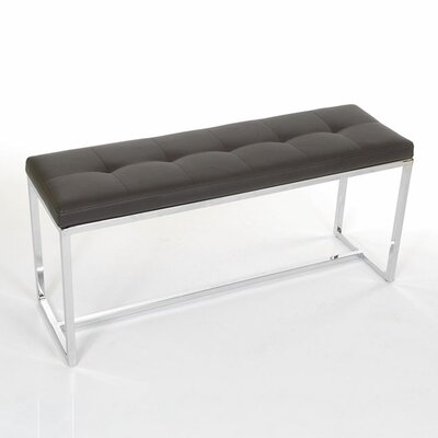 Upholstered Bench Upholstery: Black