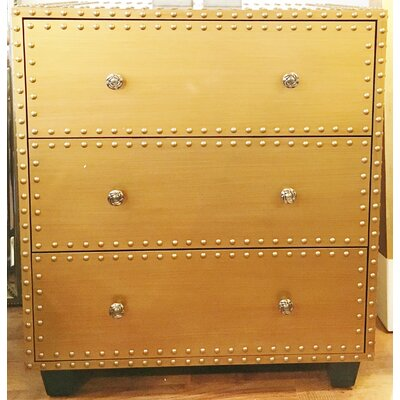 Bousquet 3 Drawer Accent Chest