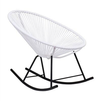 Walmsley Rocking Chair Color: White