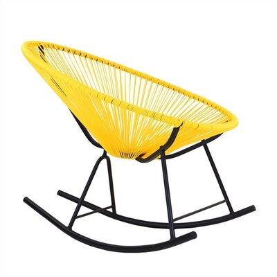 Walmsley Rocking Chair Color: Yellow