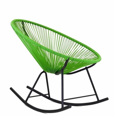 Walmsley Rocking Chair Color: Green