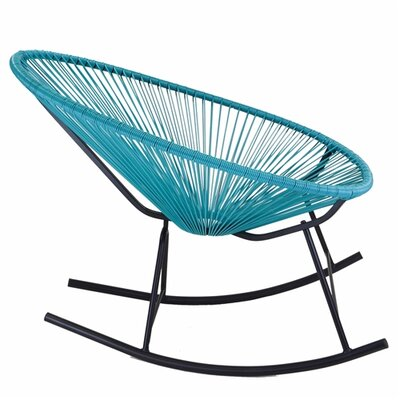 Walmsley Rocking Chair Color: Blue