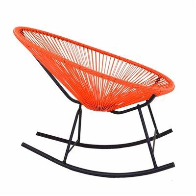Walmsley Rocking Chair Color: Orange