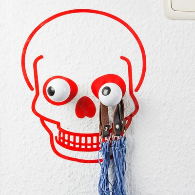 Hookly Captain Skull Decal Wall Hook