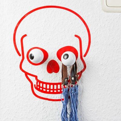 Hookly Captain Skull Decal Wall Hook