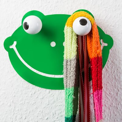 Hookly Froggy Frog Decal Wall Hook