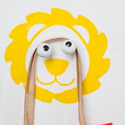 Hookly Leo Look Lion Decal Wall Hook