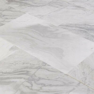 "6"" x 12"" Marble Field Tile in Argento Dolomiti"