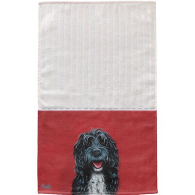 Portuguese Water Dog Multi Face Cotton Hand Towel