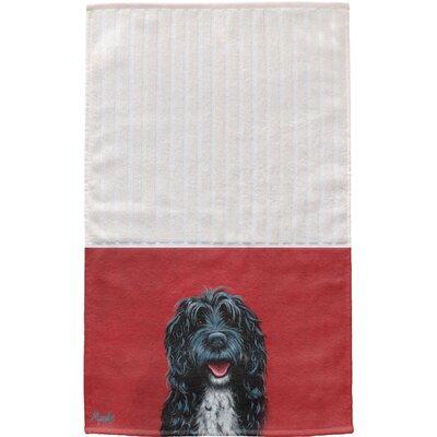Portuguese Water Dog Multi Face Cotton Hand Towel