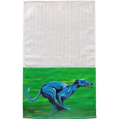 Greyhound Multi Face Hand Towel