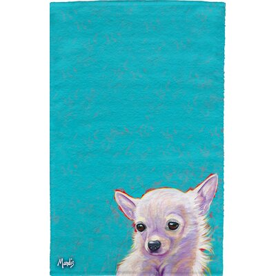 Chihuahua Full Face Cotton Hand Towel