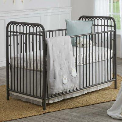 Monarch Hill Ivy Standard Crib Color: Gray