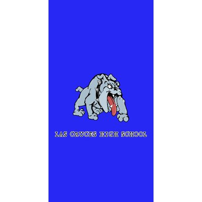 Las Cruces New Mexico High School 100% Cotton Beach Towel