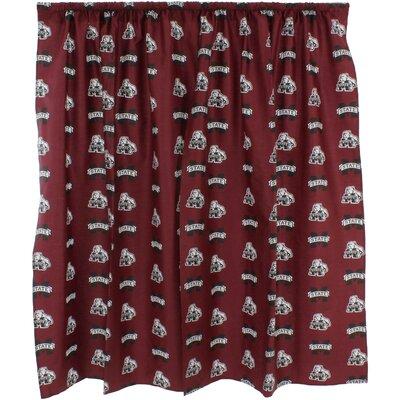 NCAA Cotton Shower Curtain NCAA: Mississippi State Bulldogs