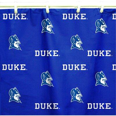NCAA Duke Cotton Printed Shower Curtain