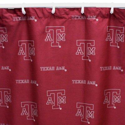 NCAA Texas A&M Cotton Shower Curtain