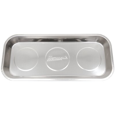 "14"" Rectangular Stainless Steel Magnetic Tray"