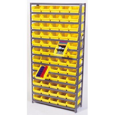 "Economy Shelf Bin Storage Units Bin Dimensions: 4"" H x 2 3/4"" W x 11 5/8"" D (qty. 144), Bin Color: Ivory"