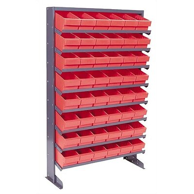 Quantum Storage Single Sided Pick Rack Storage Systems with Euro Bins