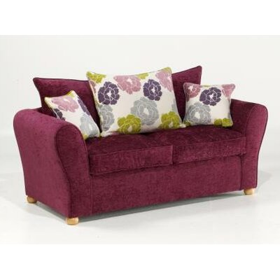 Churchfield Sofa Bed Bordeaux 2 Seater Fold Out Sofa