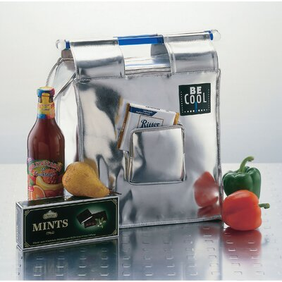 """BE Cool 13L Shopping-Bag """"Be Cool"""" in Silber"""