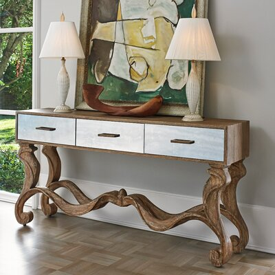 Textured Console Table